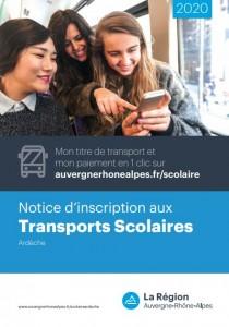 Transports 20-21 Région Ardèche